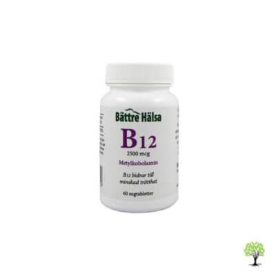 Vitamin B12 tabletter