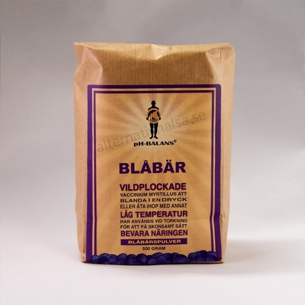 Ph Balans Blabar Fruktpulver