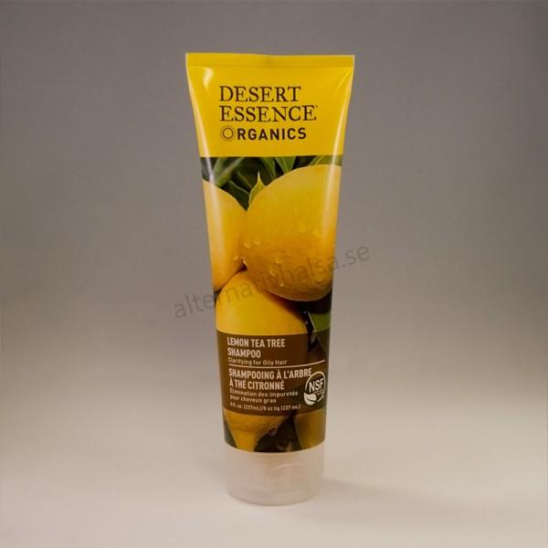 Desert Essence Organics Lemon Tea Tree Schampo