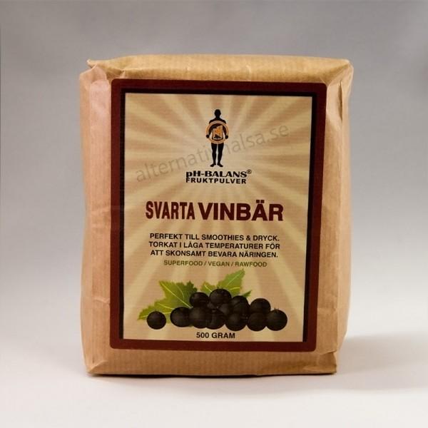 Ph Balans Svarta vinbar Fruktpulver