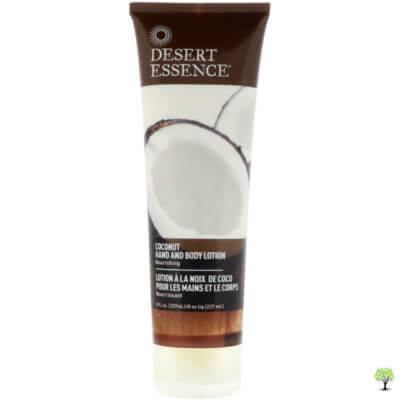 Desert Essence Organics Coconut Tropical Hand and Body Lotion