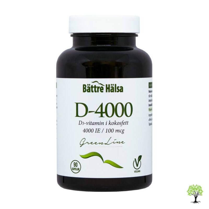 D vitamin kapslar