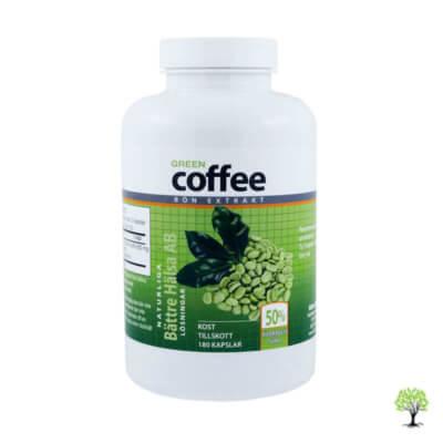 Grönt kaffe kapslar, Green Coffee