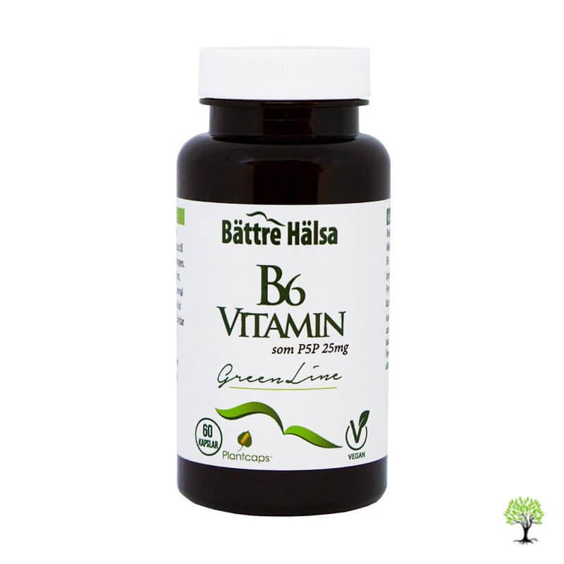 Vitamin B6 Kapslar