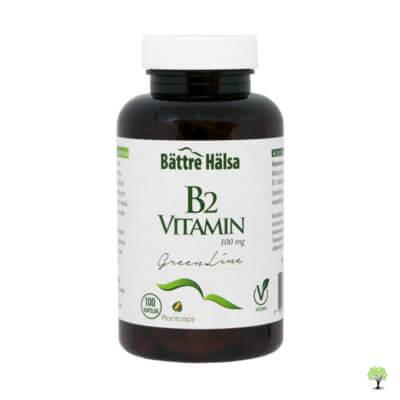 Vitamin B2 kapslar