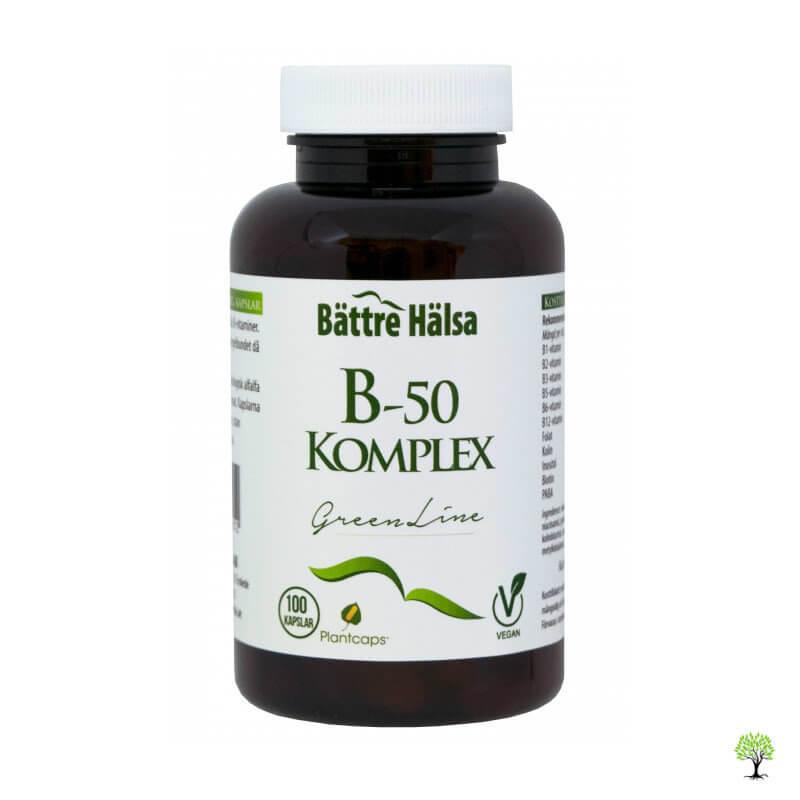 Vitamin b50 kapslar